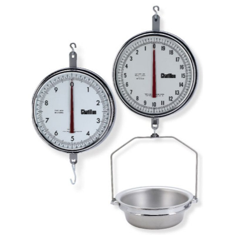 Chatillon: Scale- 8200 Hanging Scale, 13-inch Dial