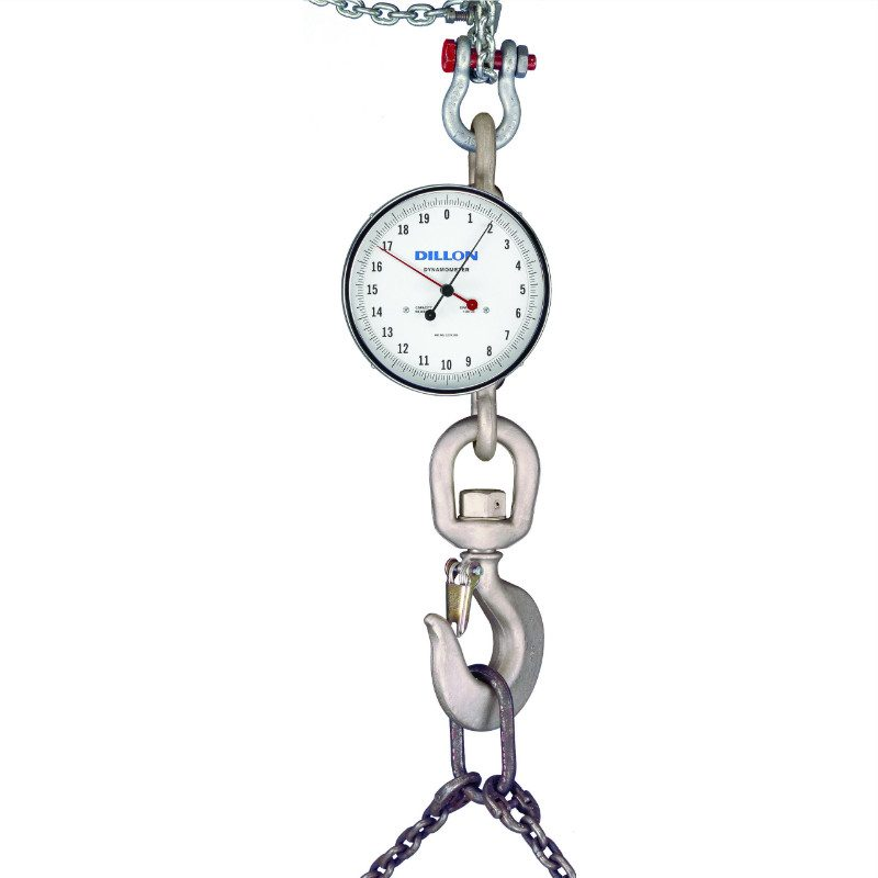 Dillon AP Series Dynamometer/Crane Scale, Mechanical (10″ Dial)
