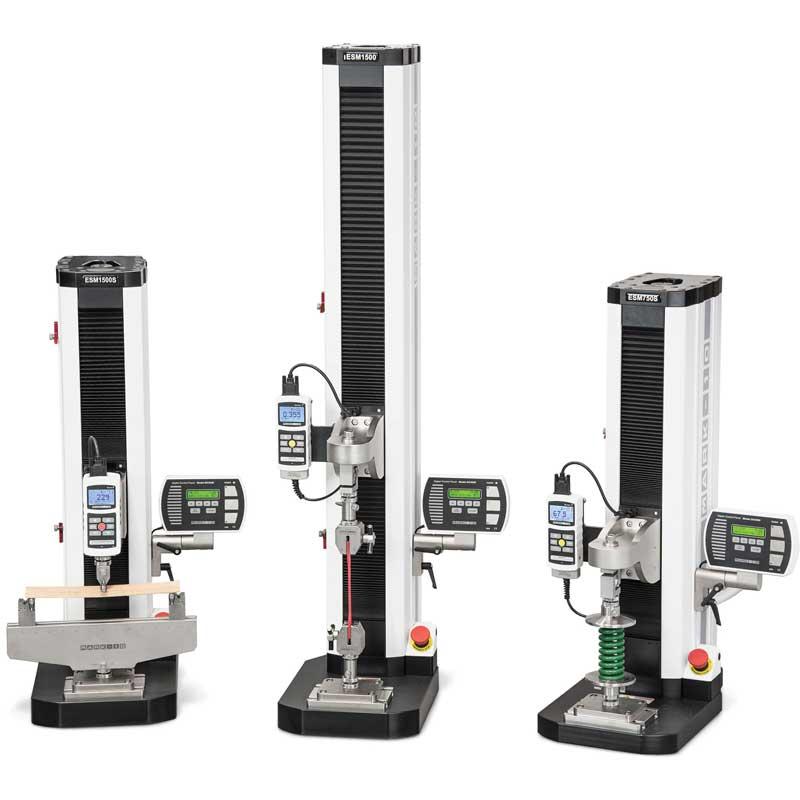 ESM1500, ESM750 Test Stand