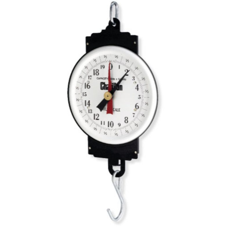 Chatillon: Scale- MD Series Hanging Milk Scale, 9-inch Dial