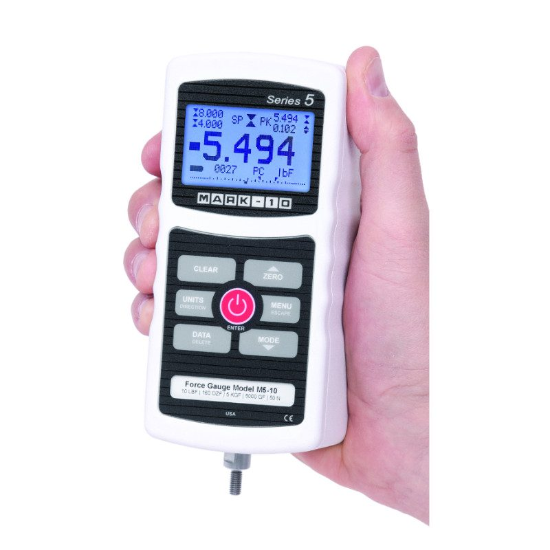 Mark-10 M5 Digital Force Gauge, Series 5
